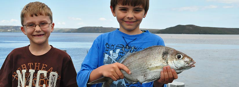 Fishing at Strahan, Tasmania